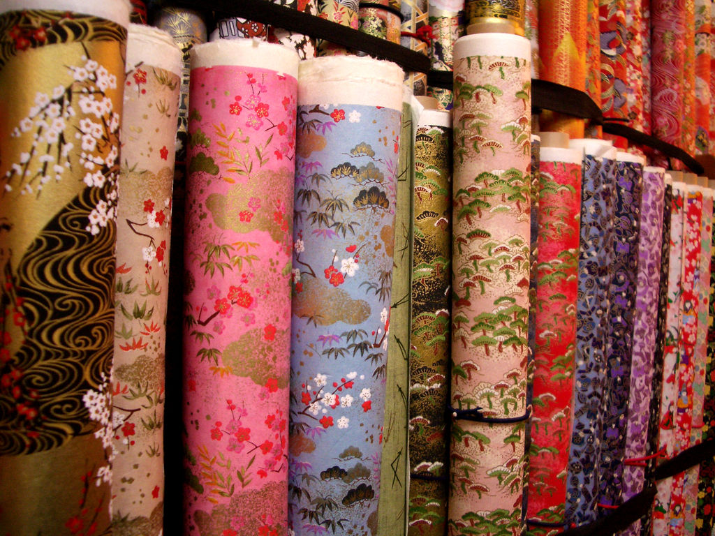 rolls of washi paper tape