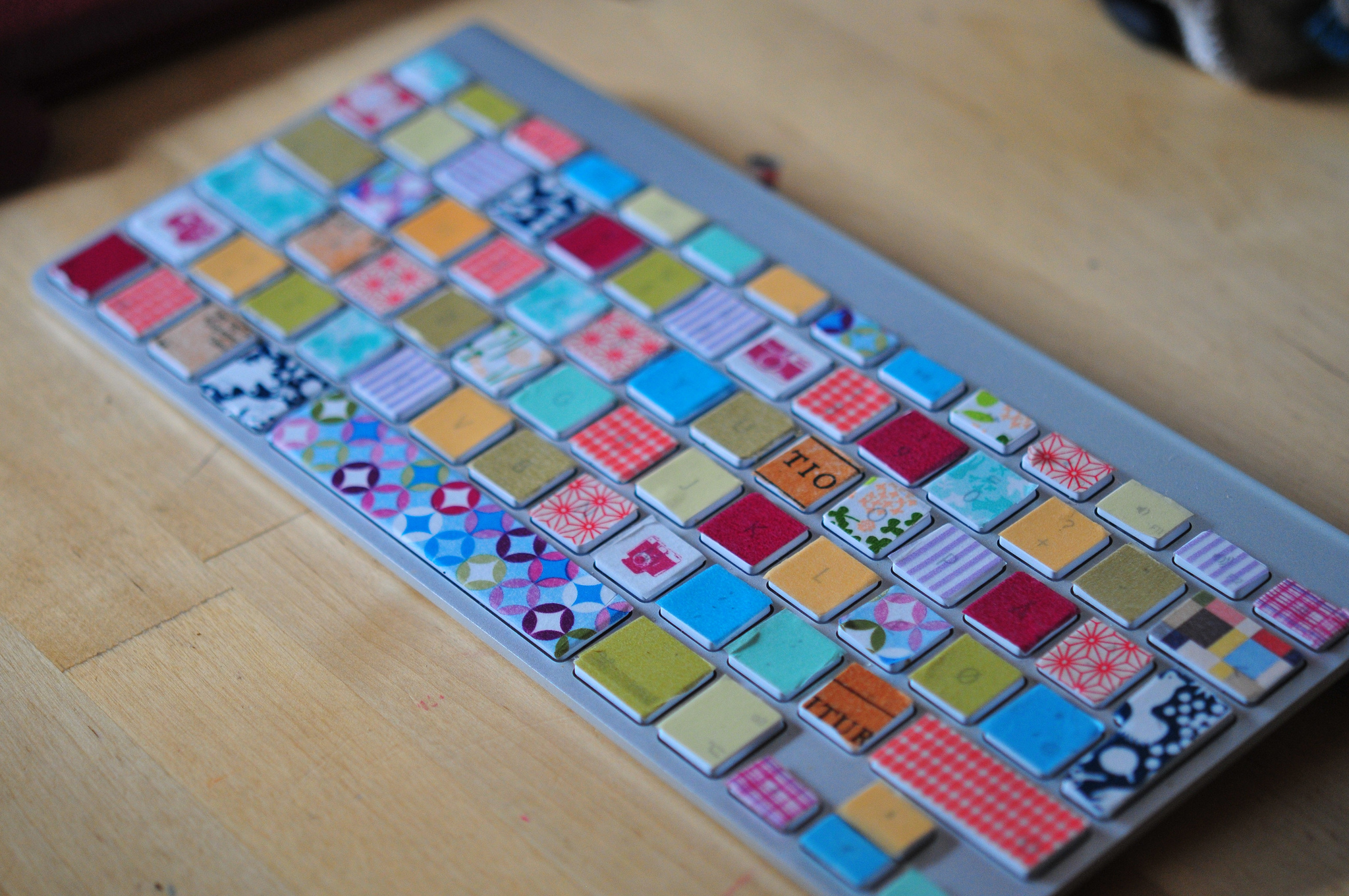 washi tape keyboard