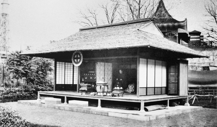 Ryukyu Islands' Satsuma Pavilion at the 1867 International Exposition