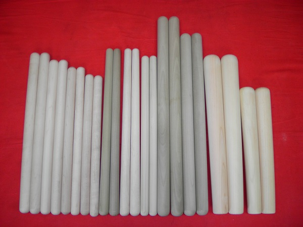 drumsticks used with taiko japanese drum bachi