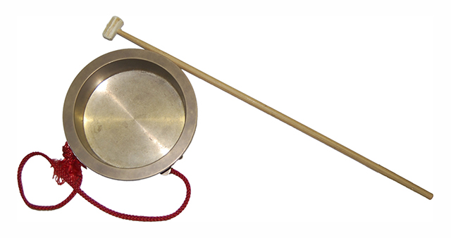 chanchiki japanese instrument bell frying pan shape