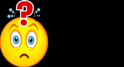 confused emoji realtors