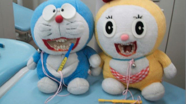 toy animals with teeth