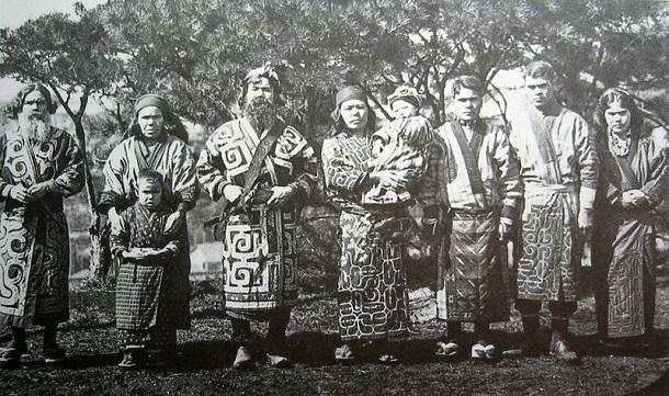 ainu group japan