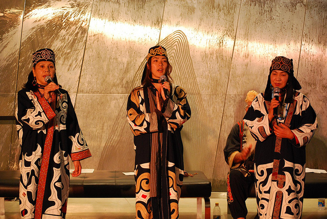 ainu women singing in japan