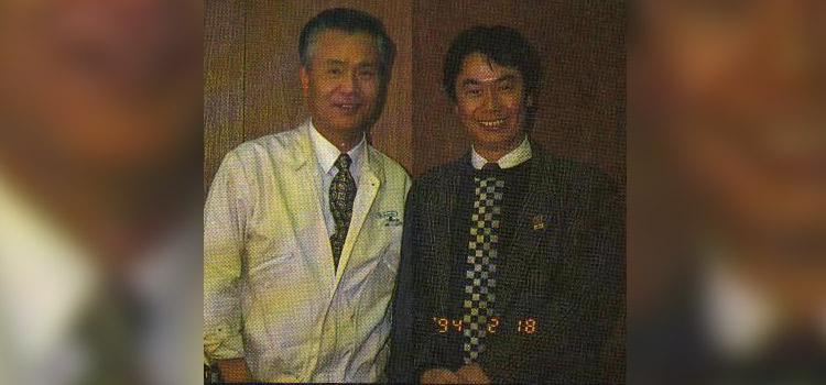 Key Nintendo people Gunpei Yokoi and Shigeru Miyamoto