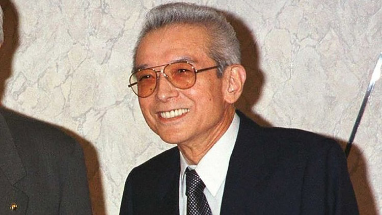 Hiroshi Yamauchi, the founder of Nintendo
