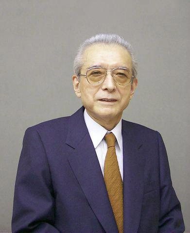 A portrait of Nintendo founder Hiroshi Yamauchi