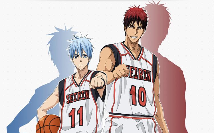 Promotional image for the Kuroko no Basuke anime