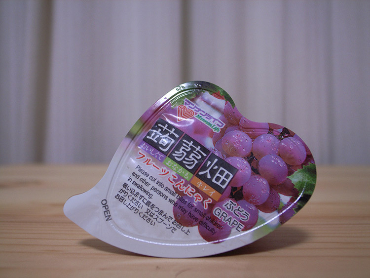 grape flavored snack