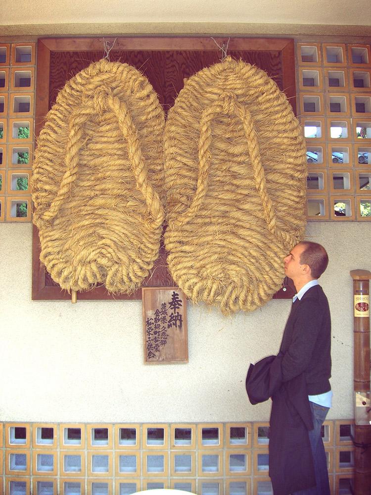 buddha shoes knitting for jizo