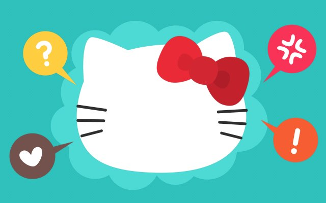 The Secret Behind Hello Kitty's Blank Face