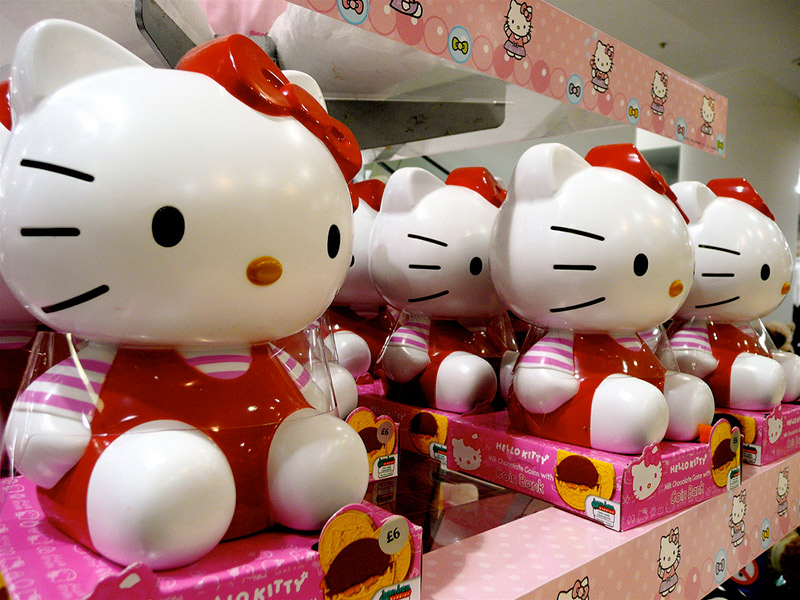 Hello Kitty merchandising