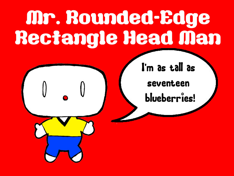 rounded head generic character