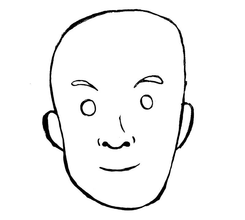 very simple drawing