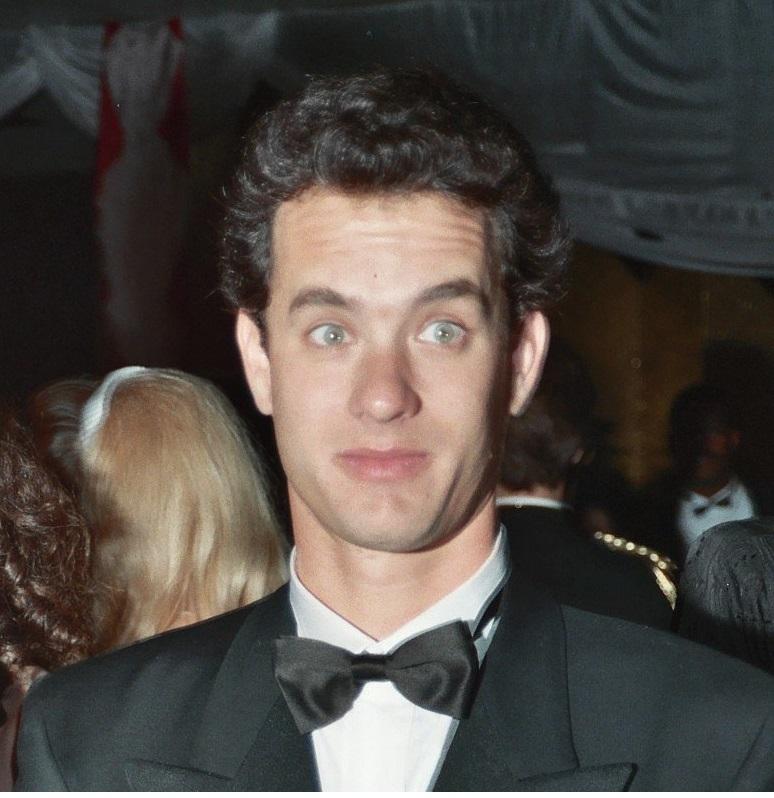 young Tom Hanks tuxedo