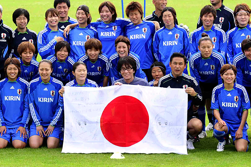 Japanese womens soccer team