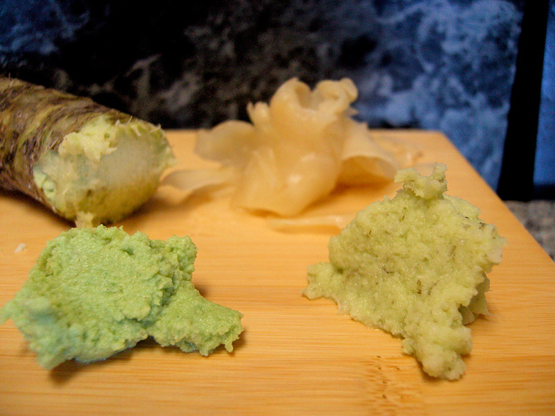 two kinds of wasabi