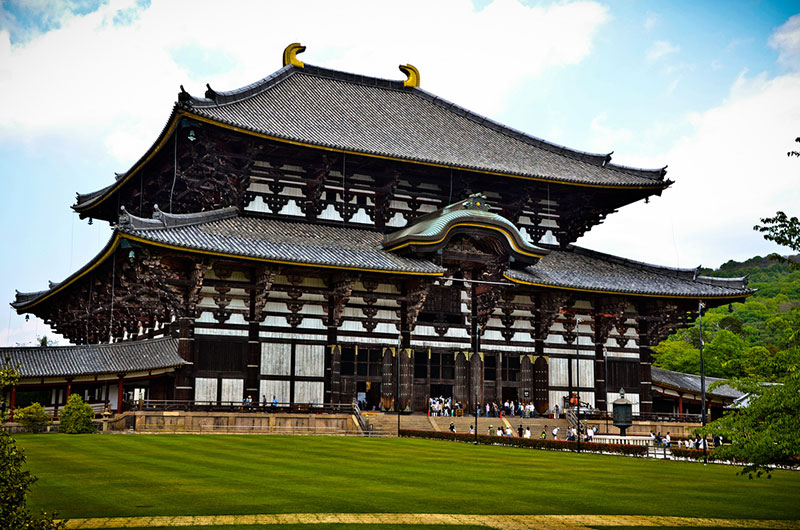 Nara buddhism todaiji temple