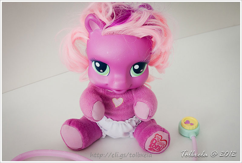 A doll of My Little Pony's Cheerilee