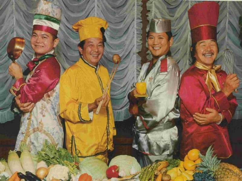 chefs on the original japanese iron chef show