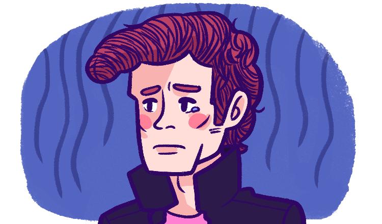 A despondent Yanki student