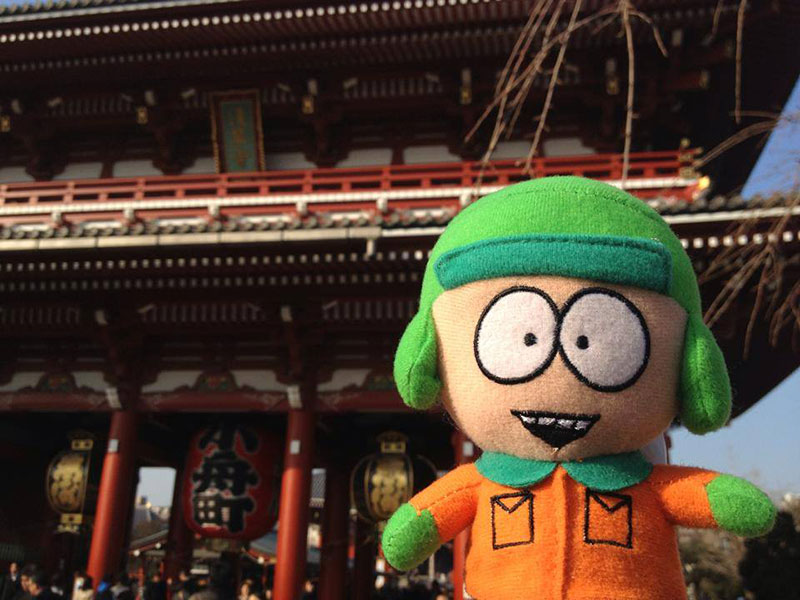 stan from southpark in japan