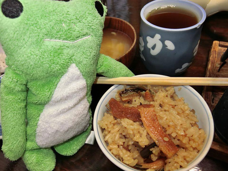 stuffed from eating japanese food