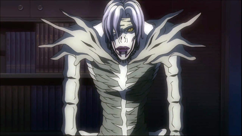 shinto tropes anime shinigami deathnote