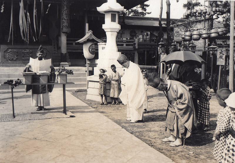 shinto trope anime priest