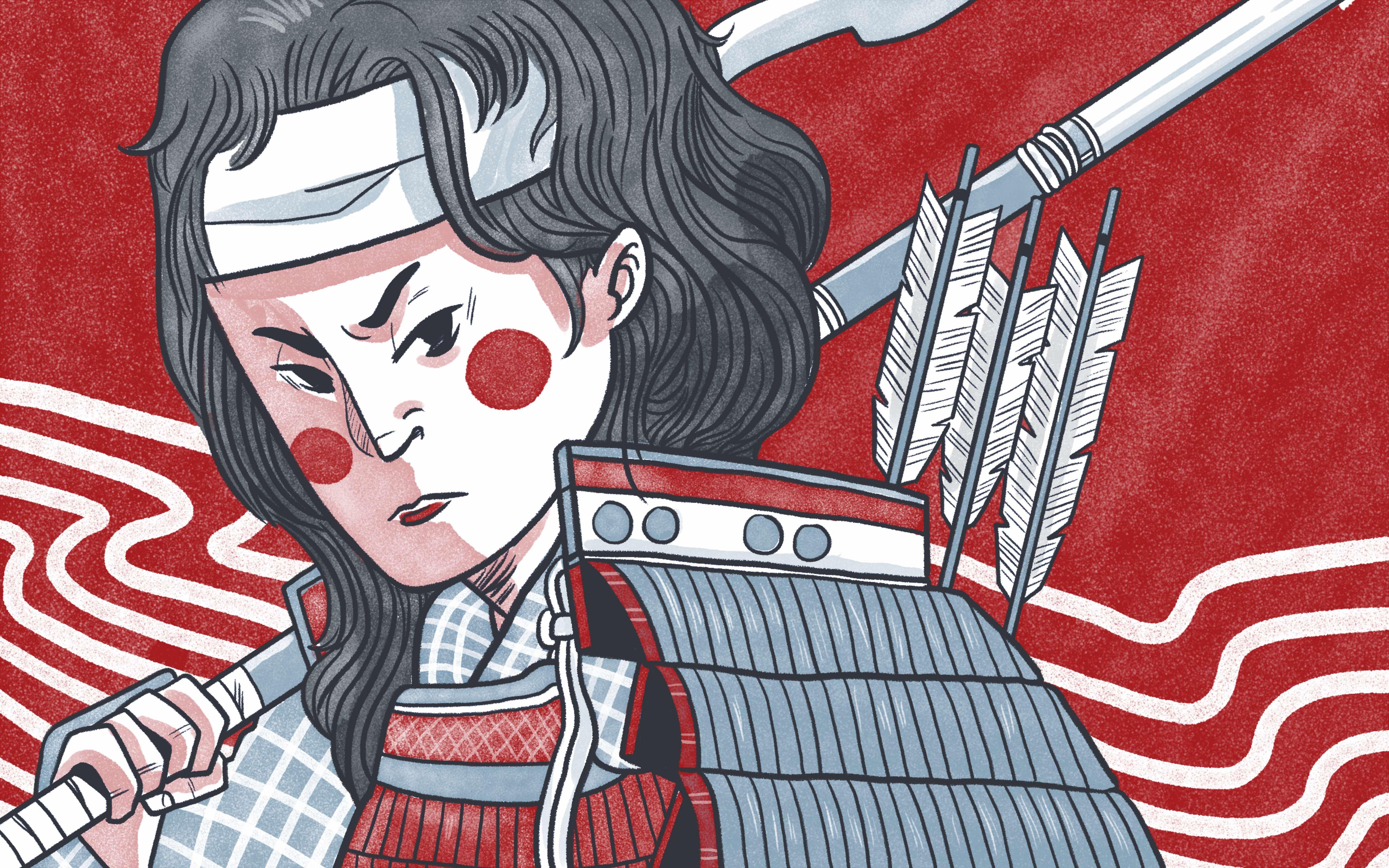 tomoe gozen badass women in japanese history
