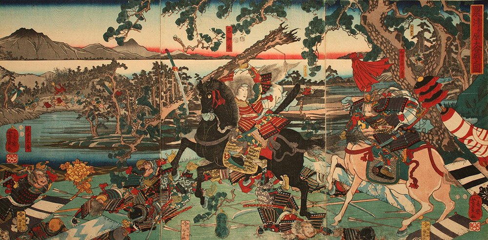 tomoe gozen in battle