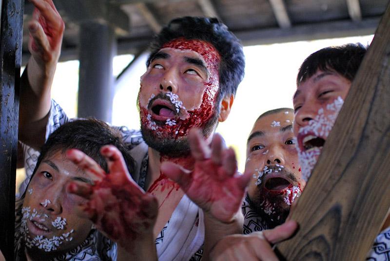 Scene from Noboru Iguchi Dead Sushi