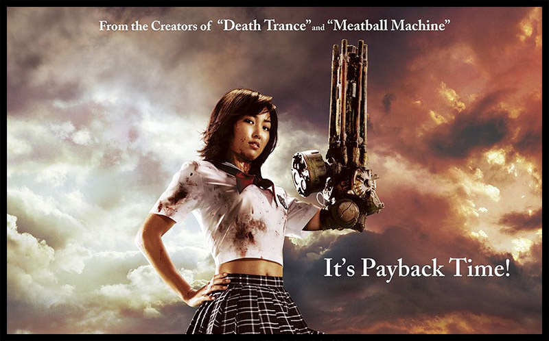 Promotional poster for Machine Girl