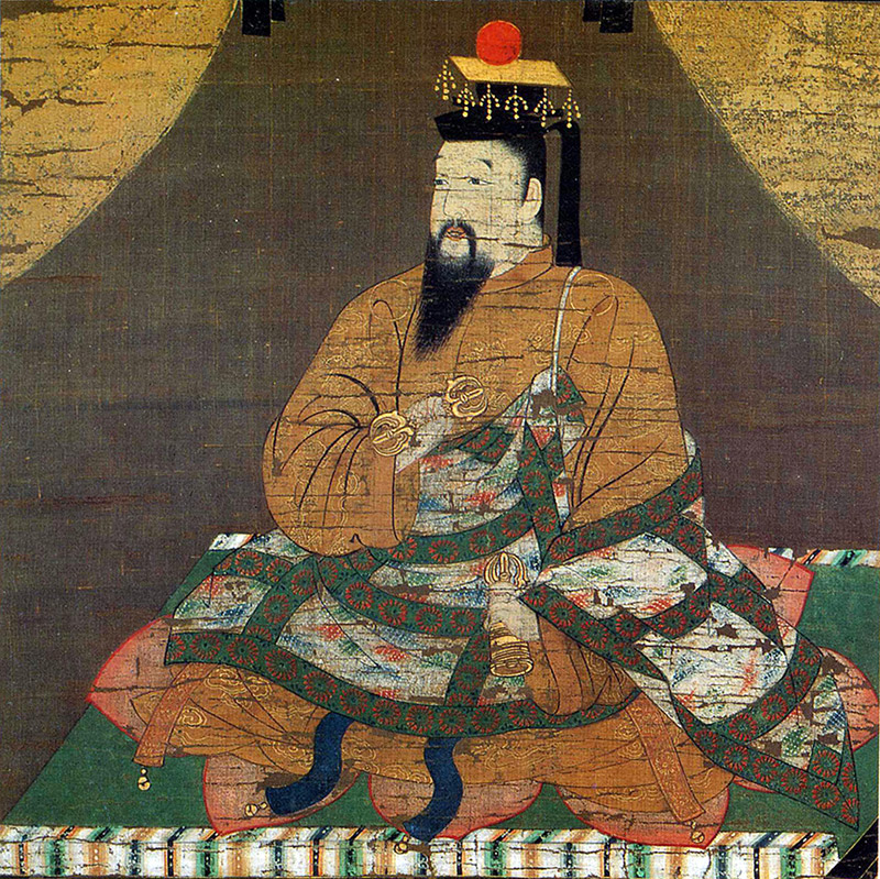 painting of Chinese Han emperor