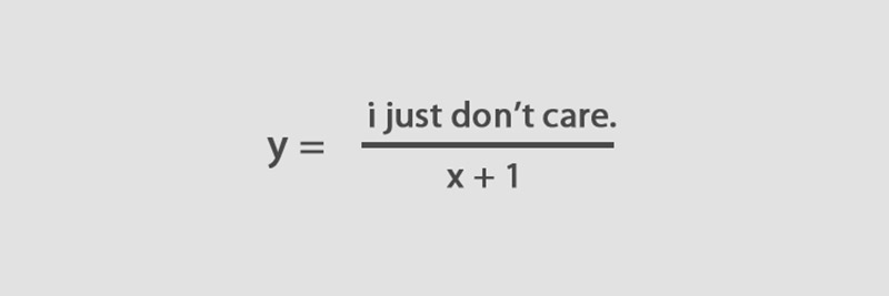 joke mathematical formula