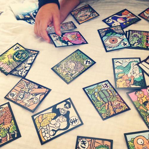 obake karuta japanese cards