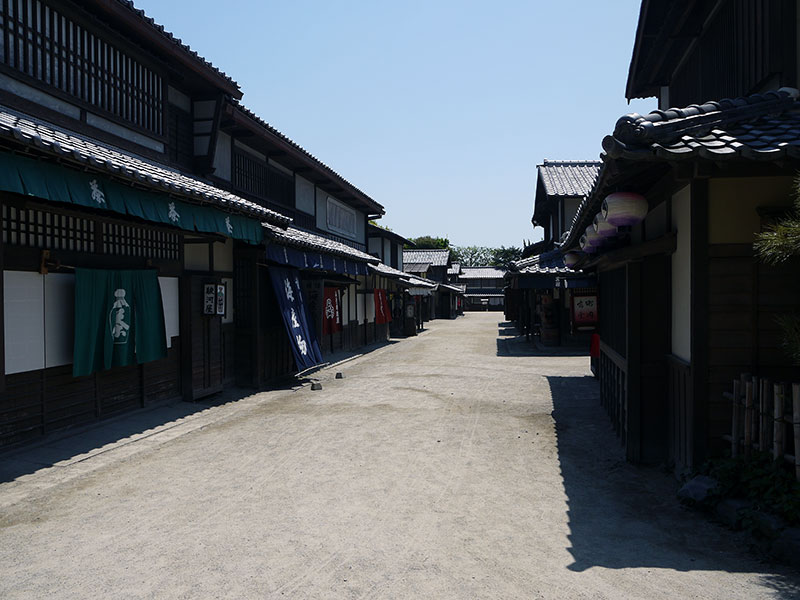 japanese street historic edo era