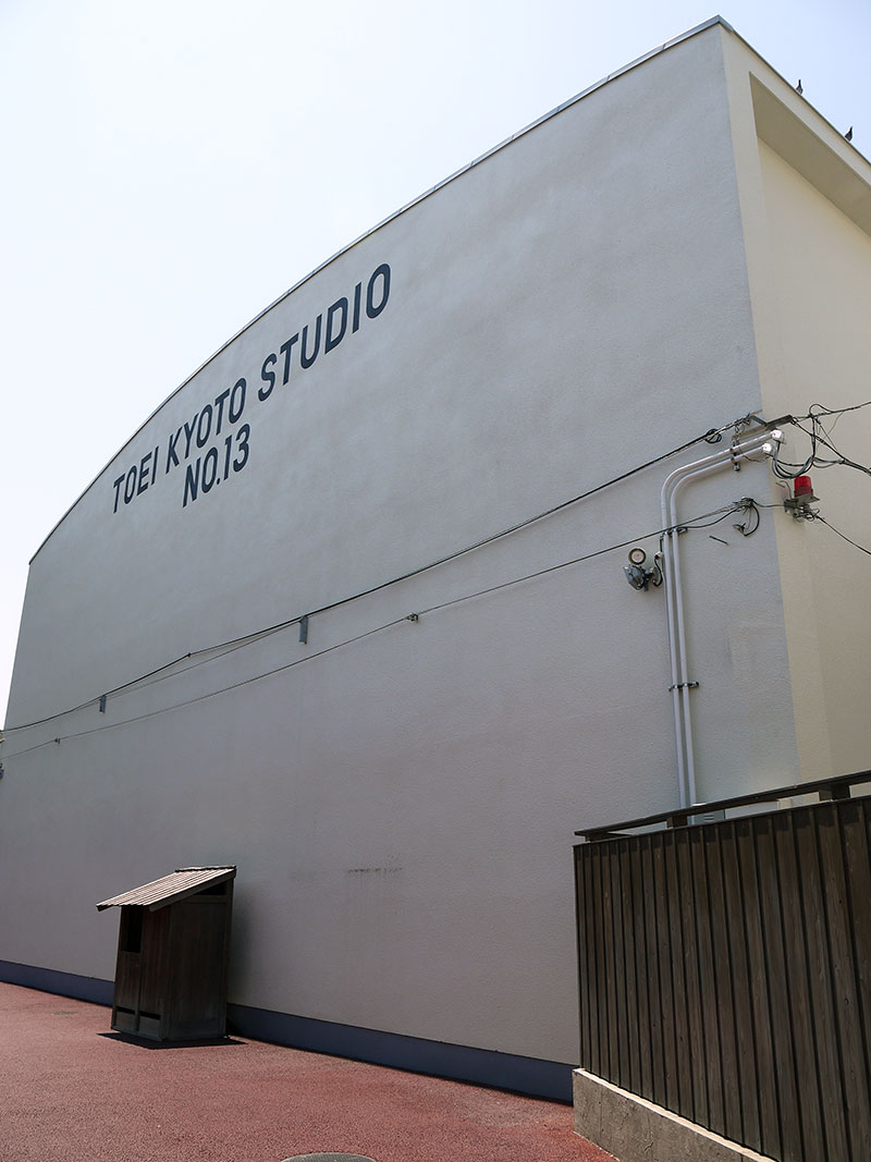 japan samurai movie studio set