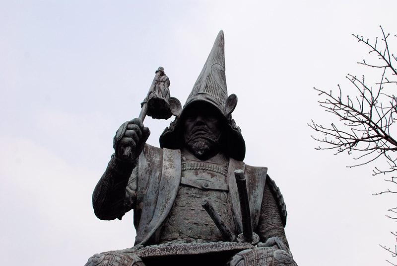 statue of kato kiyomasa