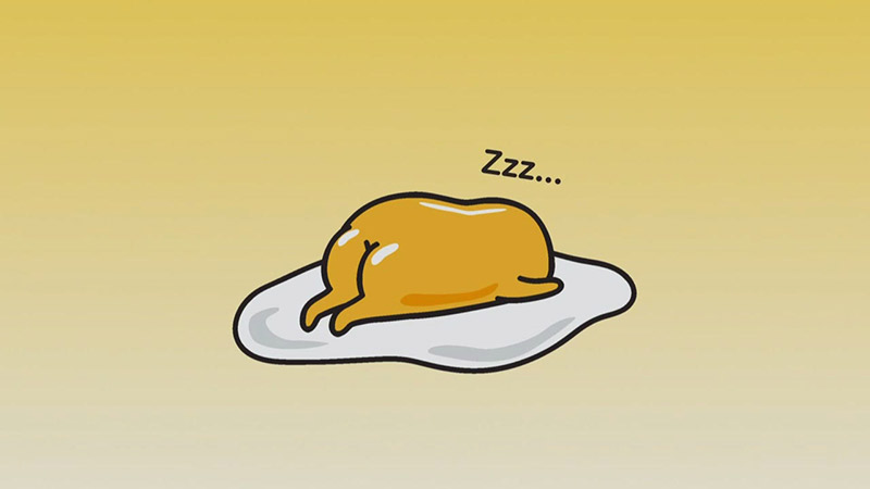 Gudetama sleeping egg