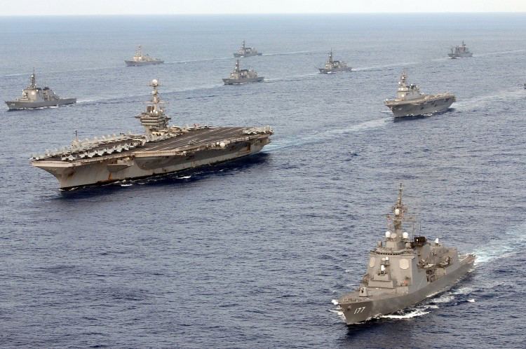 Ships of the US Navy 7th Fleet