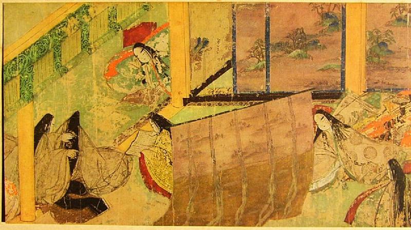 murasaki shikibu genji emaki azumaya