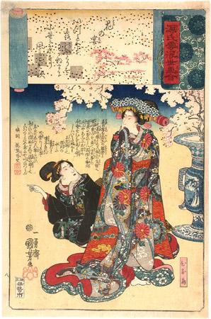 murasaki shikibu genji kuniyoshi