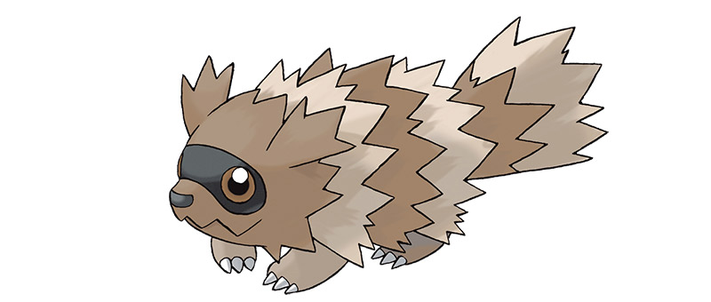 Zigzagzoon from Pokemon