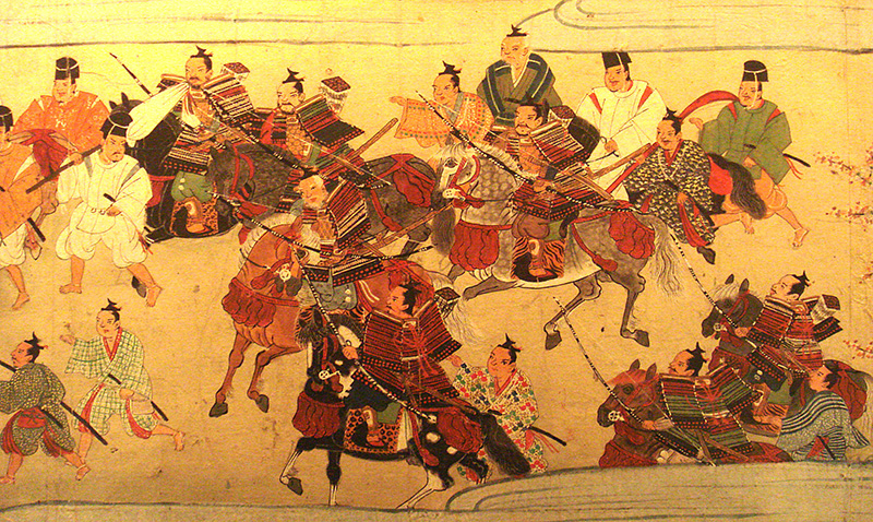 Samurai Woodblock Print