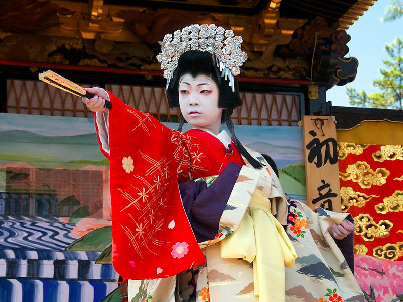 actor in kabuki play