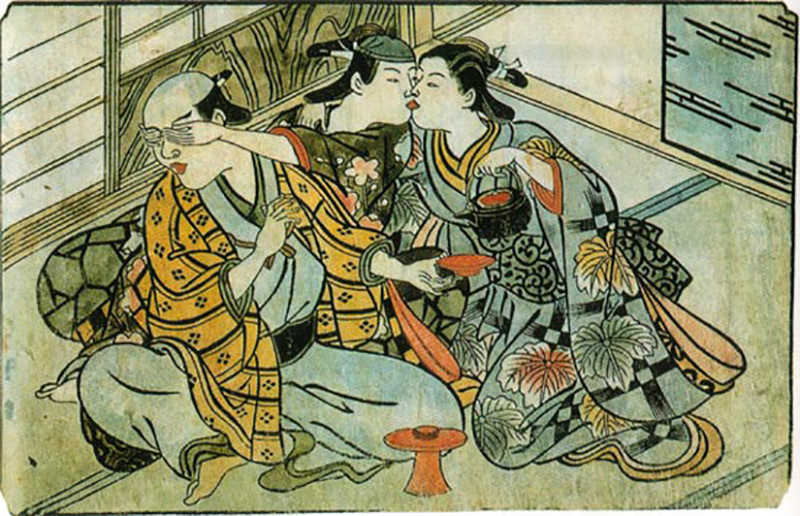 japanese homosexuality in art