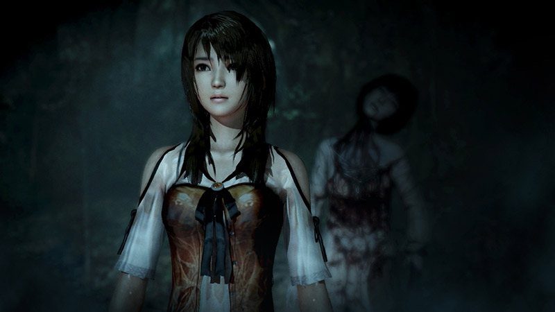 female character from horror game Fatal Frame