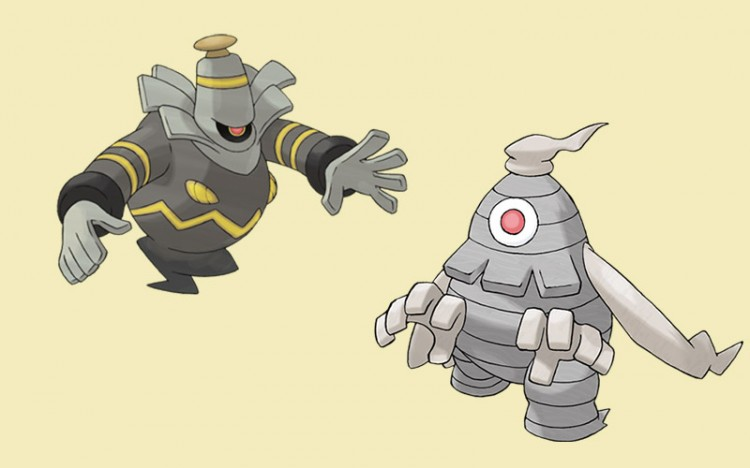 pokemon monsters dusclops and cusknoir
